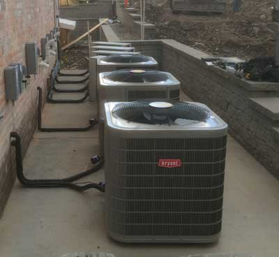 Commercial A/C Systems Installation