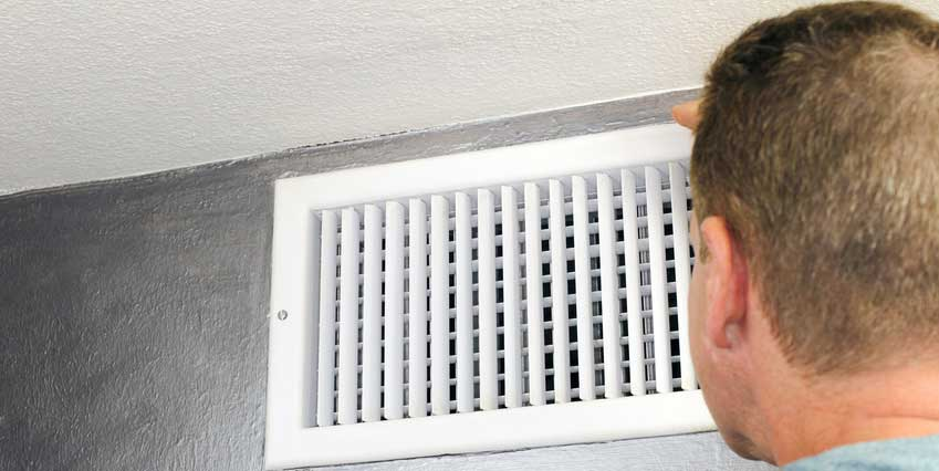 Inspecting Air Flow From Vent