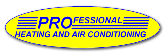 Professional Heating and Air Conditioning Logo